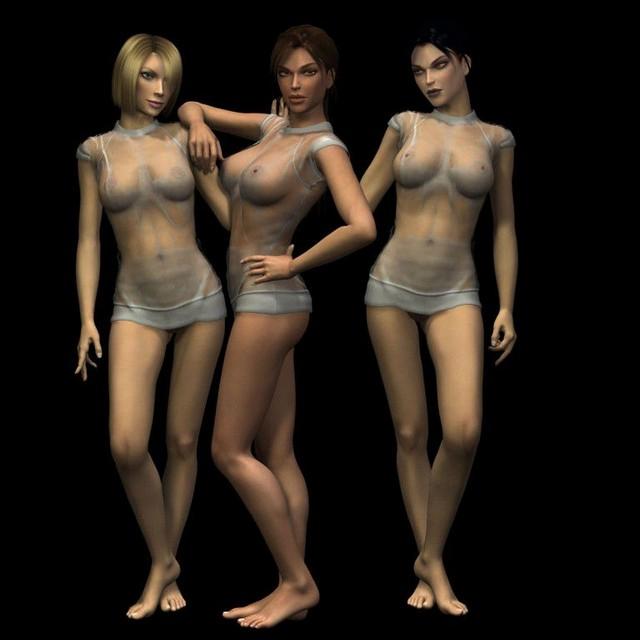 Amanda Lara Croft Tomb Raider Hentai