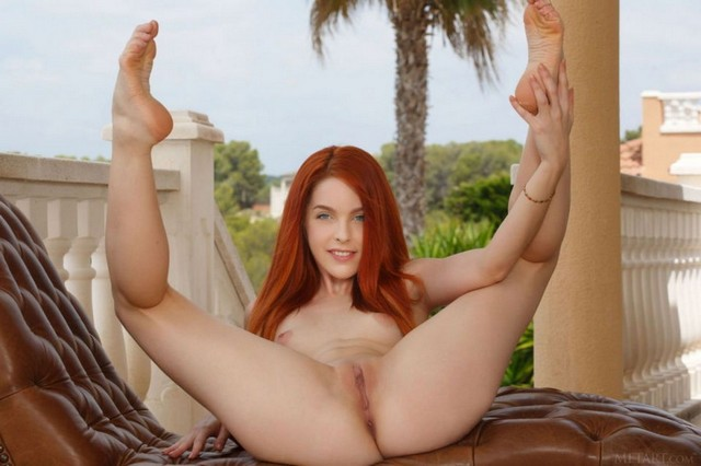 Amarna Miller Redhead Nude