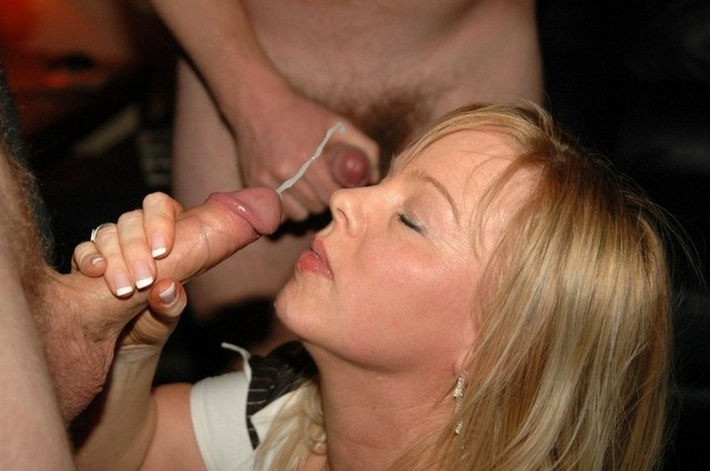 Amateur British Gangbang Party Slut