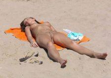 Beach Candid Nude Sunbathing