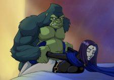 Beast Boy And Raven Hentai