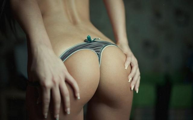 Beautiful Ass Bikinis Manicure Girl