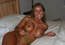 Big Fake Tit Tan Milf