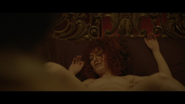 Blandine Bellavoir Topless Naked Movie Stills