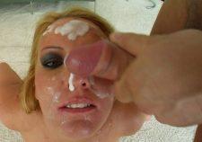 Blonde Bukkake Porn