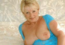 Blonde Mature Lady Nude