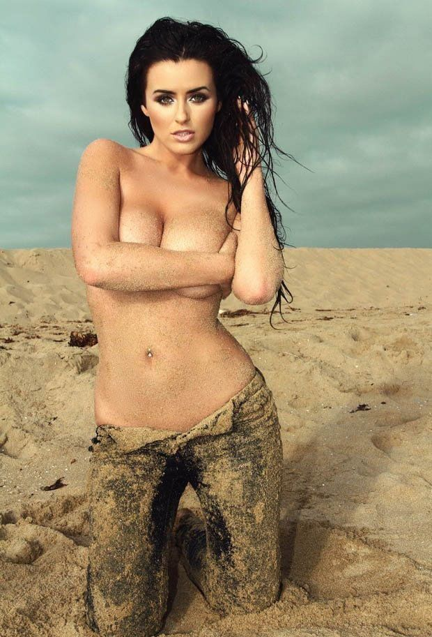 Abigail Ratchford Naked Topless Sexy Tits