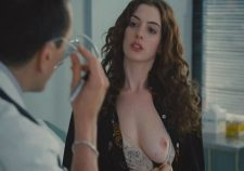 Actress Anne Hathaway Nude Open Boobs Nipples Pics