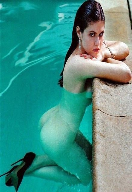 Alexandra Daddario Nude In Swimming Pool