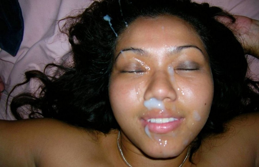 Amateur Chubby Wife Facial