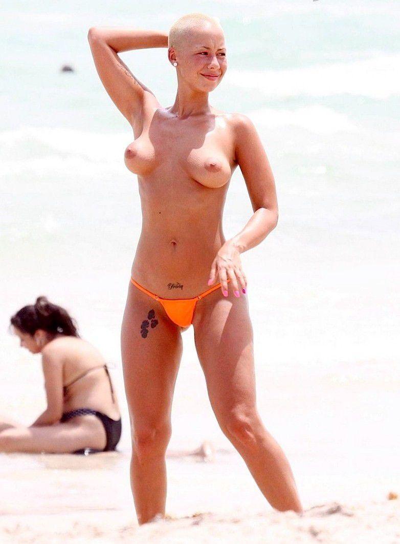 Amber Rose Naked Boobs