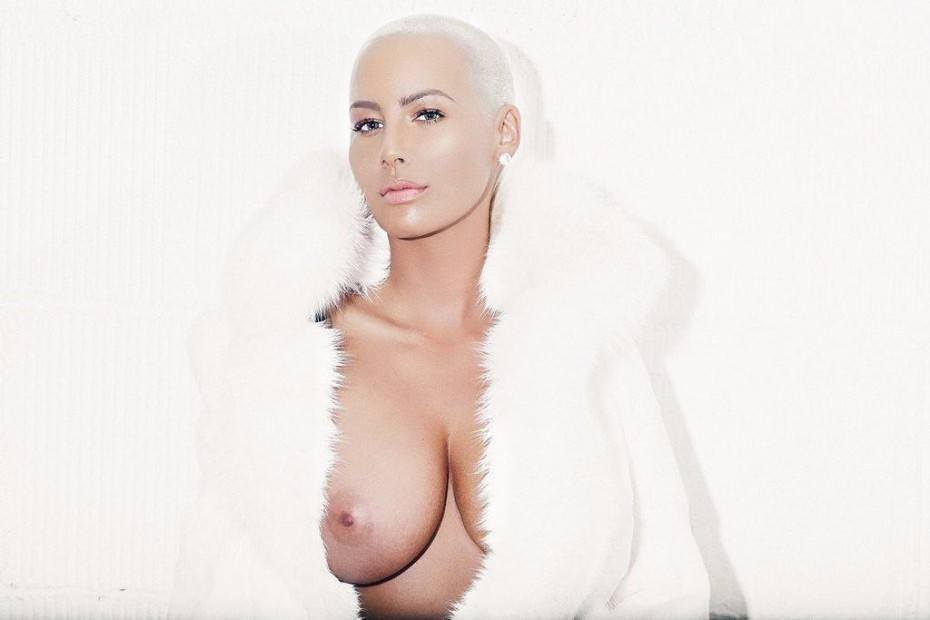 Amber Rose Nude Tits Sexy Topless