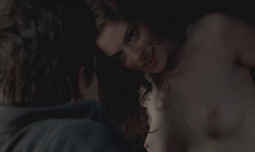 Anne Hathaway Nude Scene Sexy Tits
