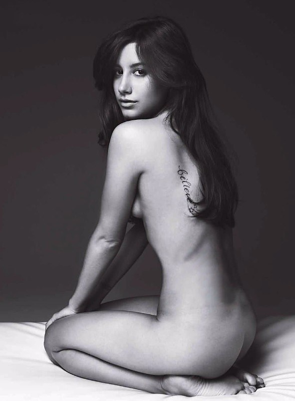 Ashley Tisdale Nude Topless Sexy Feet
