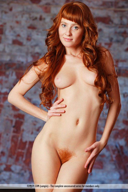 Beautiful Nude Redhead Red Hair