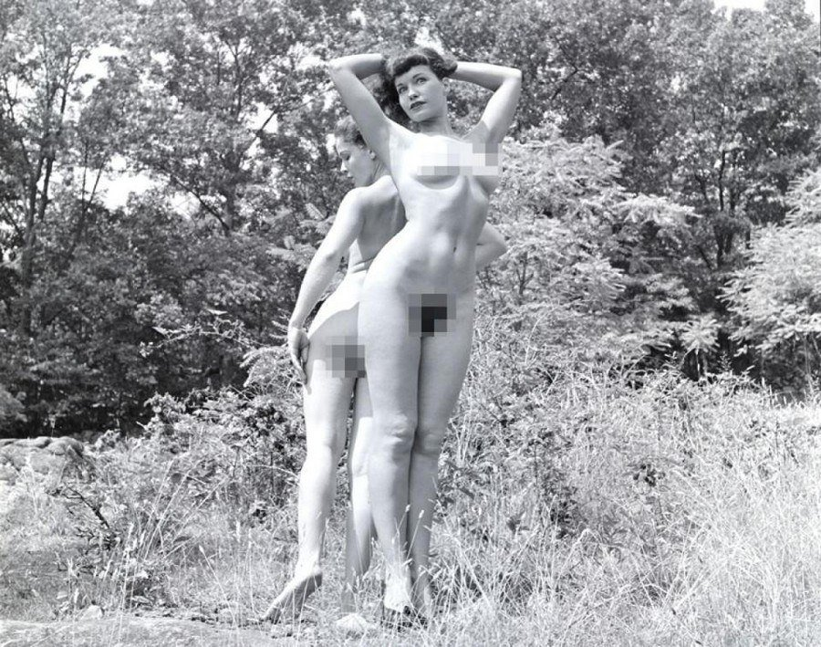 Nude betty page Bettie Page