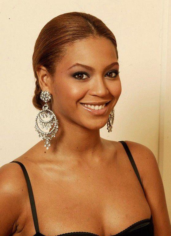 Beyonce Knowles No Makeup