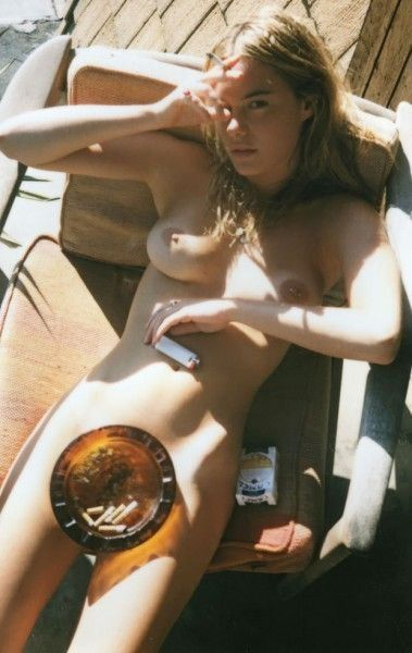 Camille Rowe Nude Tits Completely Posing