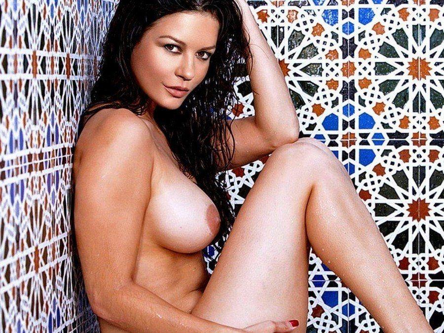 Catherine Zeta Jones Celebrity Playboy Nudes