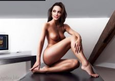 Celebrities Naked Angelina Jolie