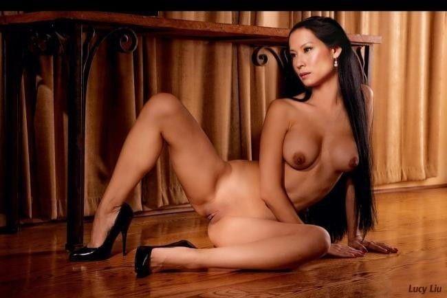 Celebrity Naked Pics Lucy Liu