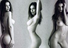 Celebrity Nude Photo Emily Ratajkowski Naked Tits