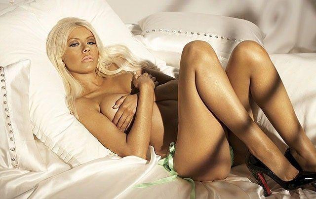 Christina Aguilera Topless In Maxim Magazine