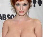Christina Hendricks Nude Topless Naked Celebrity