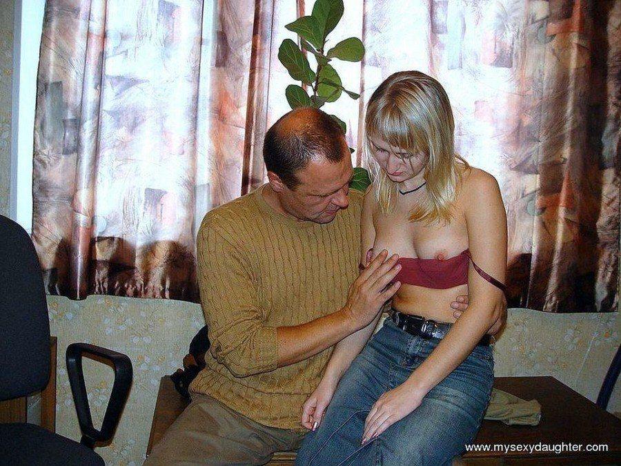 Dad Cums Daughters Friend