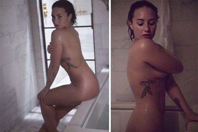 Demi Lovato Totally Nude
