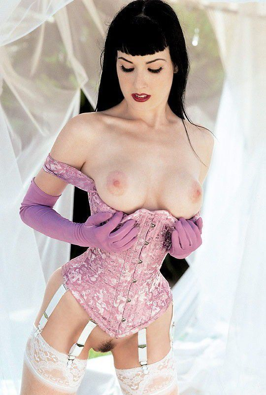 Dita Von Teese Nude Showing Big Boobs And Hairy Pussy