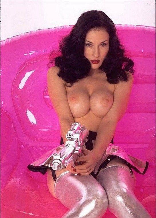 Dita Von Teese Nude Showing Hot Big Boobs