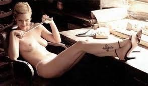 Drew Barrymore Nude Topless Sexy Photo