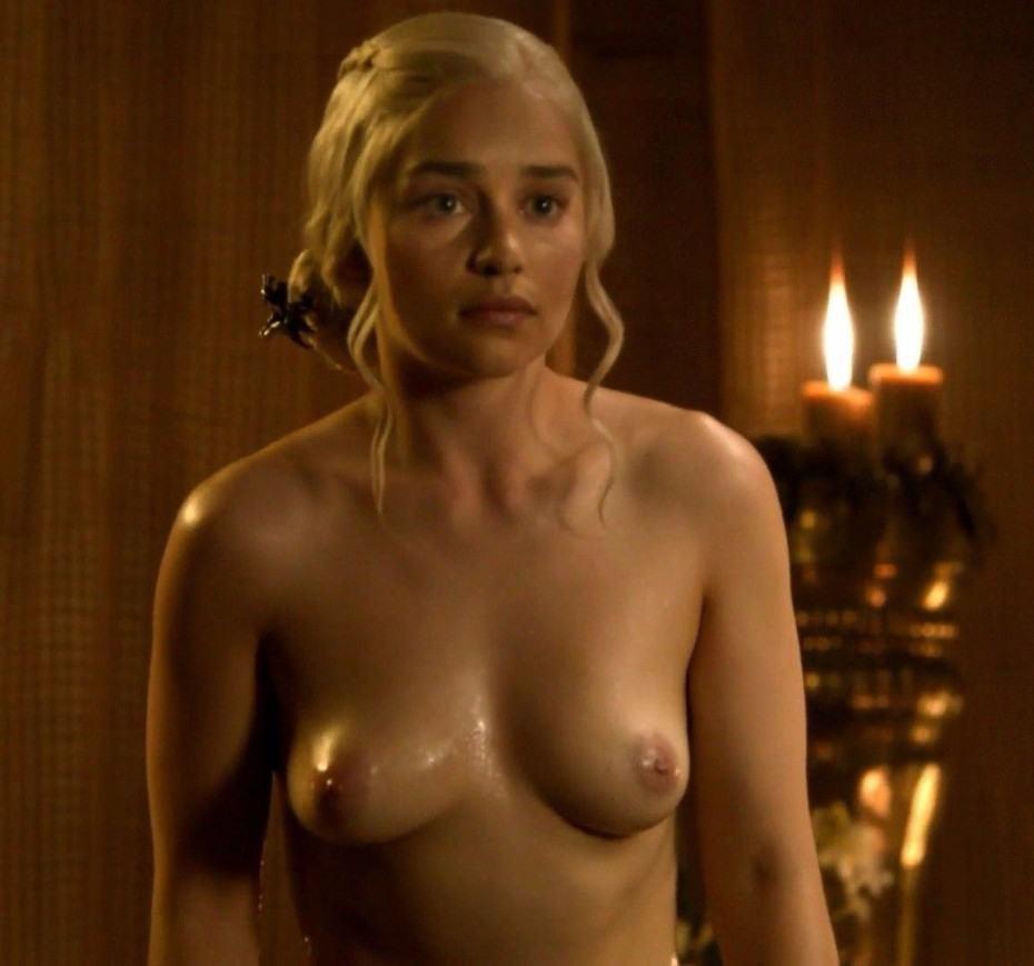Emilia Clarke Nude Topless