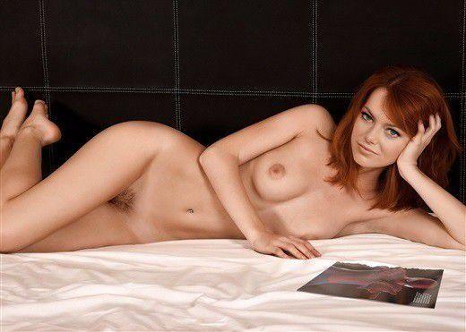 Emma Stone Topless Nude Boobs