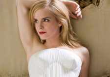 Emma Watson Naked White Dress Pictures