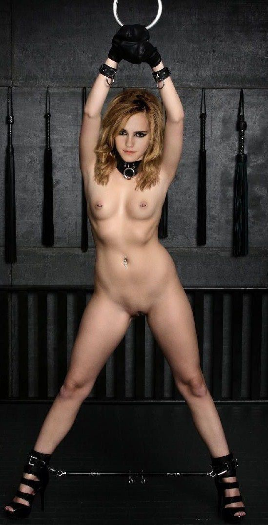 Emma Watson Nude Tits Shaved Pussy