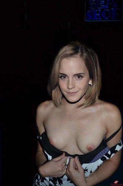 Emma Watson Topless Nude Photo