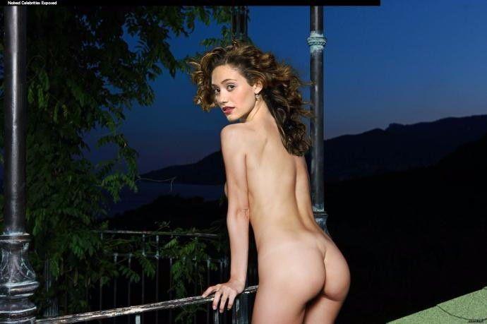 Emmy Rossum Naked Boobs Sexy Topless Hot Ass Pics