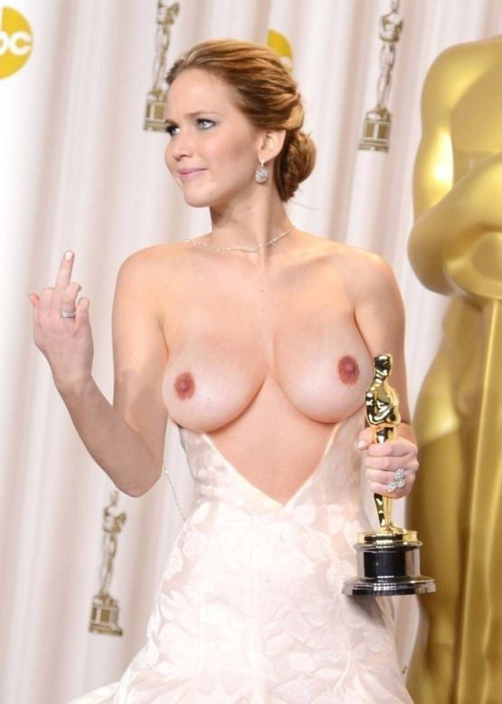 Jennifer Lawrence Nude In Show Big Boobs Nipples