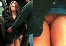 Jennifer Lopez Upskirt No Panties