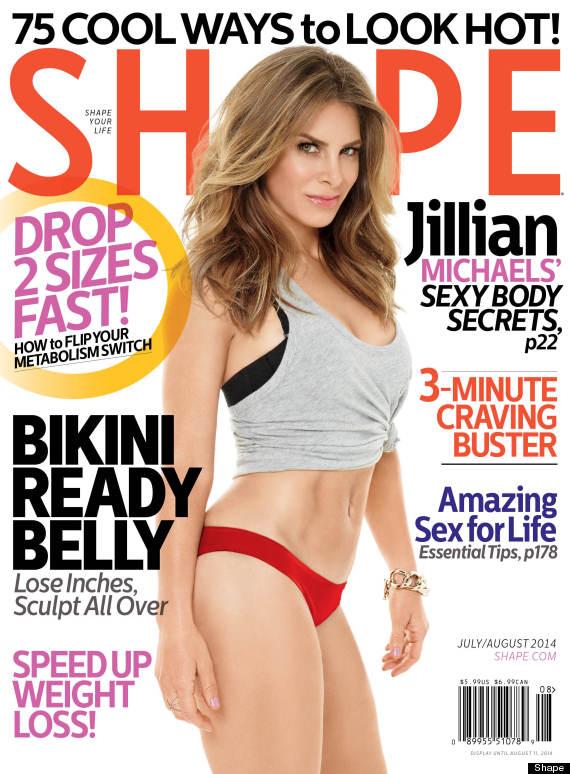 Jillian Michaels Shape Magazine