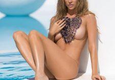 Joanna Krupa Posing Completely Nude