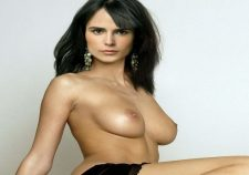 Jordana Brewster Topless In TV Series Dallas Promo Photoshoot