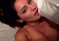 Kelly Brook Nude Selfie In Bed