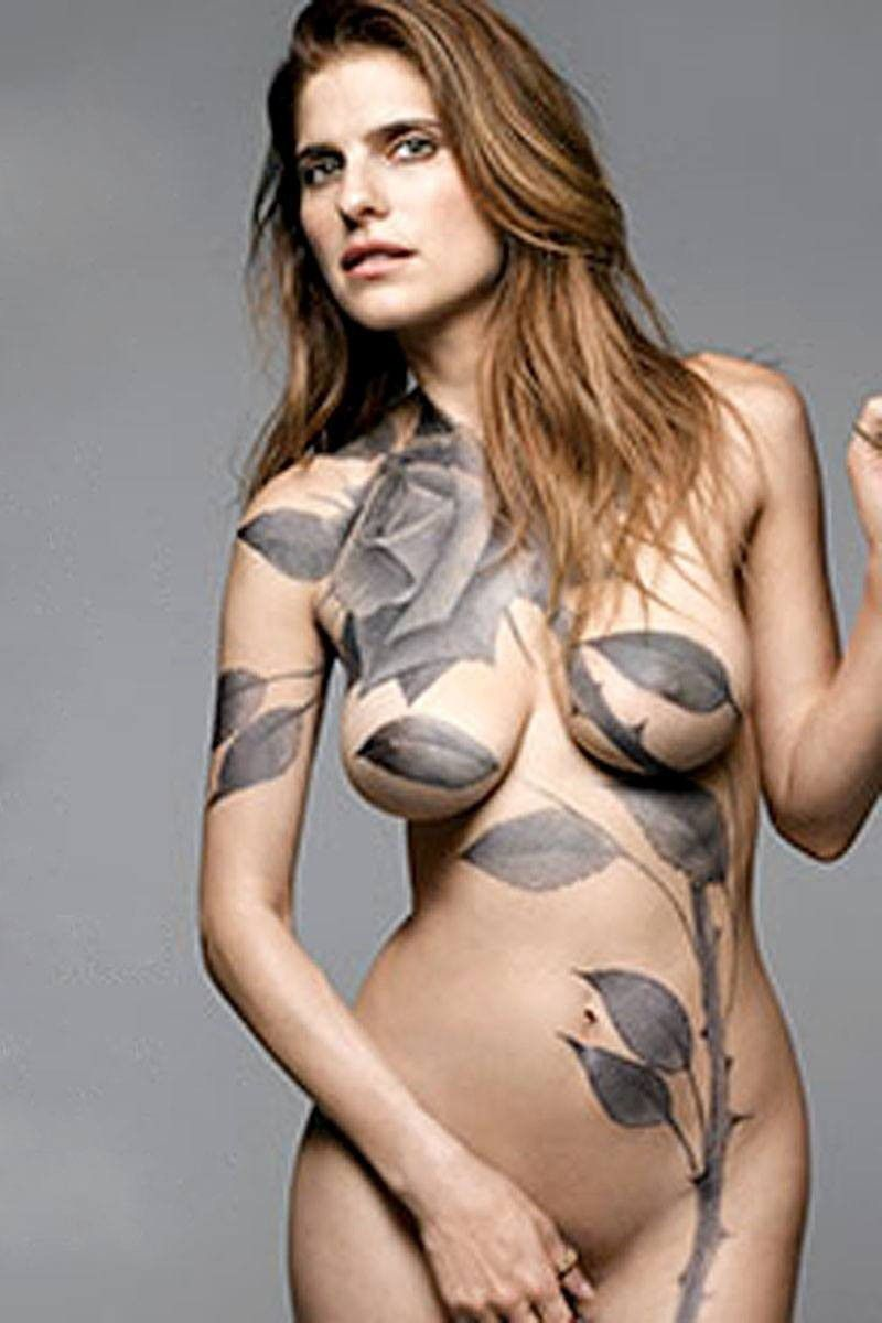 Lake Bell Gets Nude And Painted For The Cover Of New York Magazine