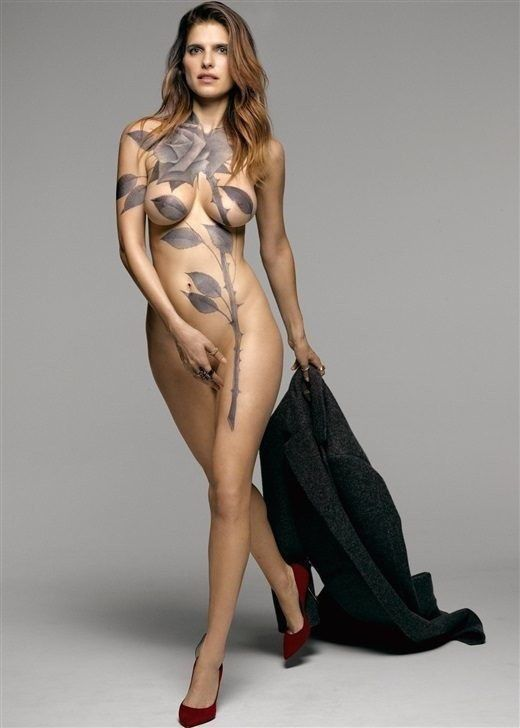 Lake Bell Nude For Magazine