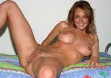 Lindsay Lohan Pretty Sexy Nude Pussy Boobs