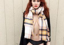 Maitland Ward Half Nude Braless Sexy Panties