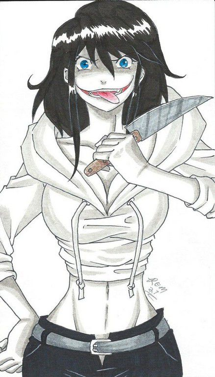 Male Reader X Jeff The Killer